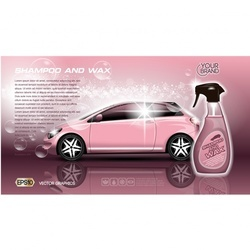 Car interior and exterior dry cleaning service