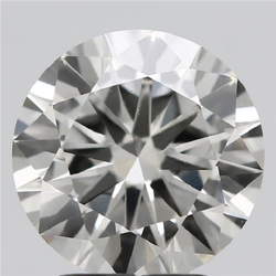 2.50ct Lab Grown Diamond CVD J VS1 Round Brilliant Cut IGI Certified Stone