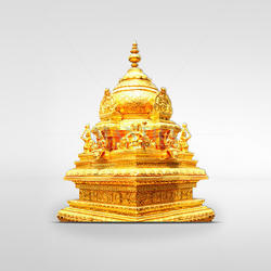 24 kt Gold Plated Vimanam