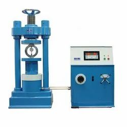 Cast And Cast Steel Cube Compression Testing Machine, Automation Grade: Computerised, Capacity: Upto 3000 Kn
