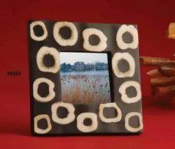 Black And White Rectangular Photos Frame