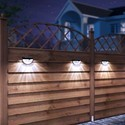 6 LED Solar Fence Light