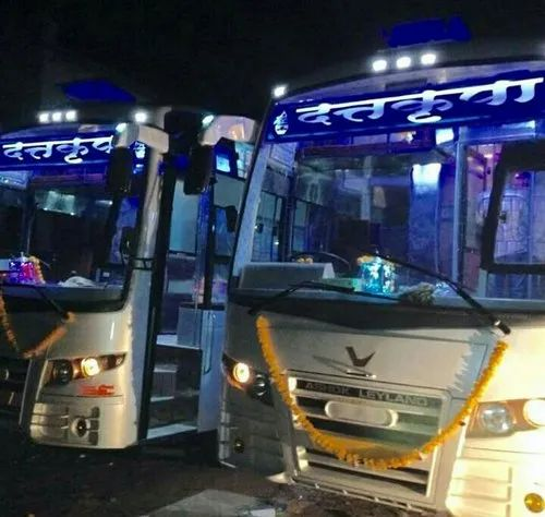 Manufacturer Of Ac Sleeper Coach Bus Ac Seating Bus Body By Shree Ganesh Coach Builders Ahmedabad