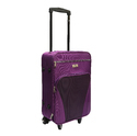 Polyester Plain Fly Compass65 Cabin Luggage - 22 Inch (purple), Model No.: Fly_compass_65_purple