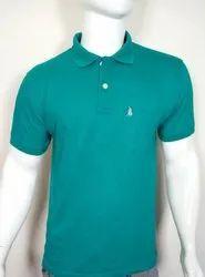 Mens Plain Half Sleeves Polo T Shirt