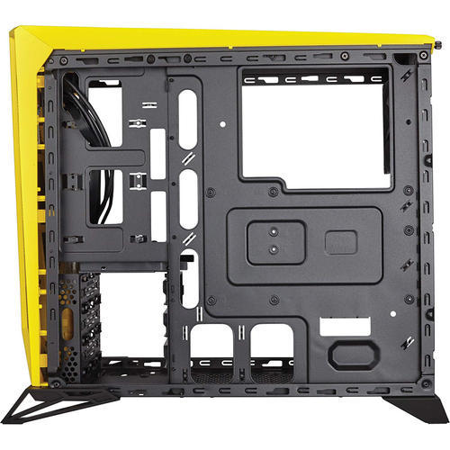 buy online 6a75f 58e77 Corsair Carbide Series SPEC-Alpha Mid-Tower Gaming Case, Black/Yellow