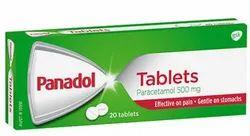 Paracetamol Tablet Panadol 500mg for Hospital, Packaging Type: Box
