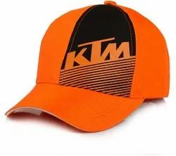 KTM Orange Baseball Cotton Cap
