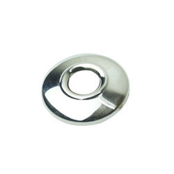 Silver Stainless Steel Flange