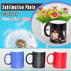Color Changing Magic Photo Mug