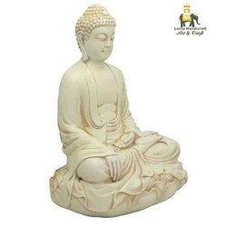 Stone Sitting Buddha Statue