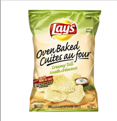 Oven Baked Lay's Creamy Dill Potato Chips