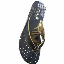 Black PU Ladies Sandal