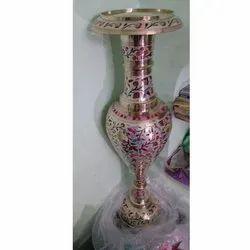 Handmade Brass Flower Vase
