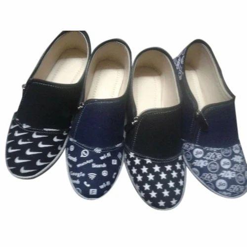 3551364639a Casual Wear Canvas Modern Ladies Shoe