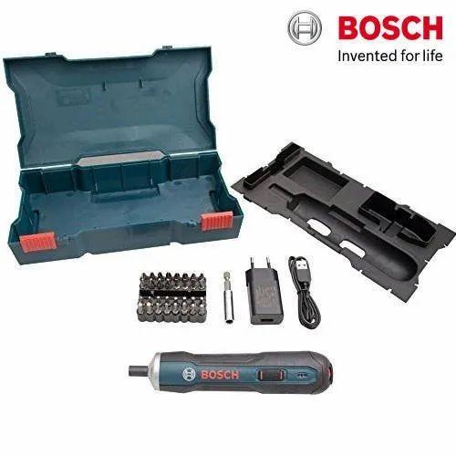 Bosch Cordless Screwdriver Go Kit, 3.6 V, 360 rpm