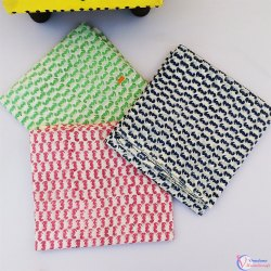 44-45 Pure Cotton Handmade Printed Fabric, For Dress, GSM: 100-150 GSM