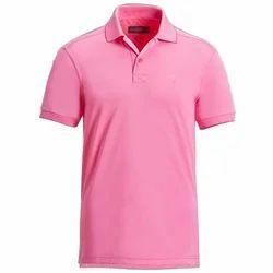 Pink Plain T Shirt