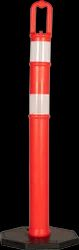 HDPE Loop Top Guide Post, For Traffic Control, Height: 1200 mm