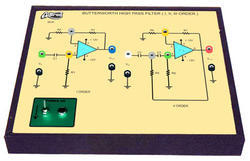 Butter Worth High Pass Filter ( I, II, III Order ) Trainer