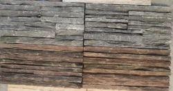 Black & Brown Stone Waterfall Panel
