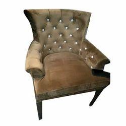 Wooden Decorative Designer Sofa Chair