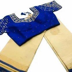 Latest Tusser Silk Saree