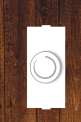 White 300 Watt Fan Regulator, for Ceiling Fan
