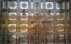 Brass Metal Door