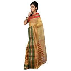 Traditional Striped Saree