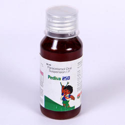 Paracetamol 250 Mg Syrup, Packaging Type: Bottle, 60 ml