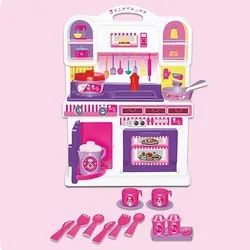 Plastic Barbie Kitchen Set Child Age Group 3 6 Years Rs 550 Piece Id 21882411733