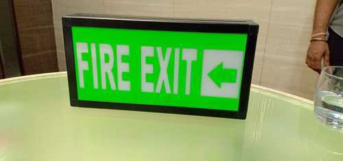 LED Fire Exit Safety Signage