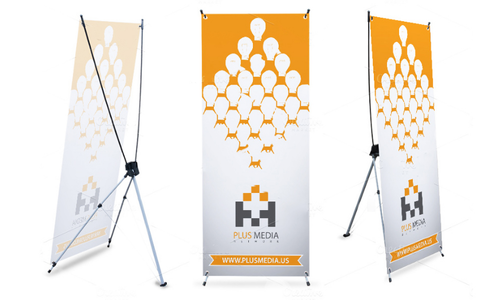 X Banner Standee
