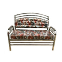 Printed Stainless Steel Sofa
