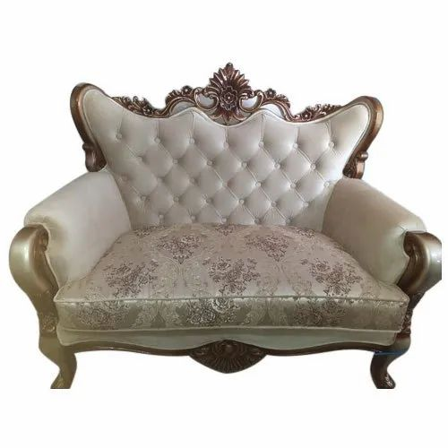 2 19 Inch Antique Two Seater Sofa For