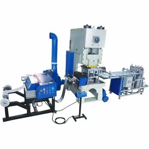 Aluminium Foil Food Container Making Machine