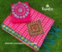Zari Casual Wear D-4843 Fancy Sarees, Set Content: 6 M (with Blouse Piece)