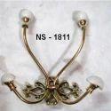 Brass Double Coat Hook