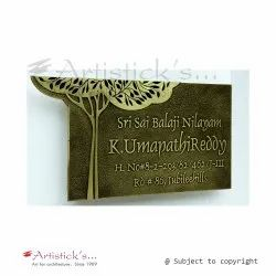Engraved Brass Name Plates