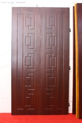 Teak Wood Design Interior wooden membrane door, For Home