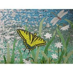 Murals Of Glass Mosaic Tile