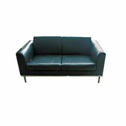 Bonton Leather Straight Line Two Seater Sofa