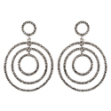 925 Sterling Silver Marcasite Earring For Girls