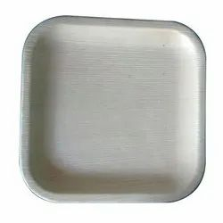 Brand:Tathastu, 6 Inch Square Areca Leaf Serving Plate, For Event And Party Supplies