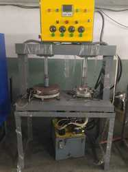 Hydraulic Double Die Plate Machine