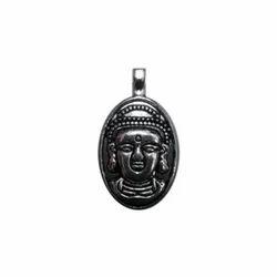 Buddha Oxidized Pendant