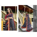 Ladies Printed Triveni Saree