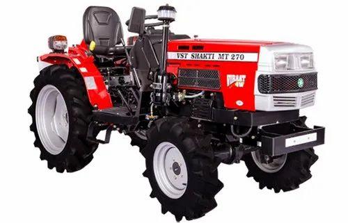 VST Shakti MT 270 VIRAAT 4W, 27 hp Tractor, 500 kg