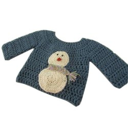 5102b75c15cb50 Baby Boys Red And White Niayamat Hand Knitted Kids Sweater